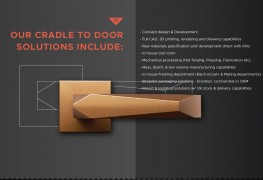 Loxta Custom Made Door Handles and Door Hardware image