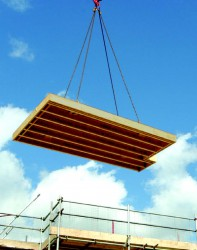 Metsä Wood Finnjoist (FJI) are manufactured from high quality oriented strand board (OSB3) web, and flanges made from our own Kerto laminated veneer lumber (LVL). Our engineered timber i-beam joists deliver strength and rigidity, virtually eradicating floor m...