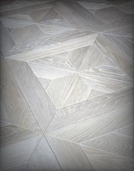 "16/16"" Design Parquet Oak White image"