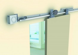 Sirocco - Self Closing Sliding Door Hardware image