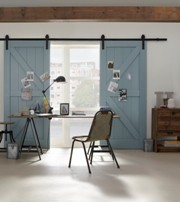Rustic 80 - Sliding Barn Door Hardware image