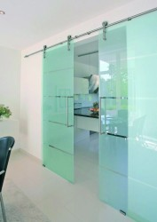 Sienna Glass - Sliding Door Hardware for Glass Doors image