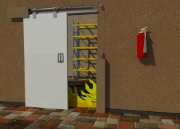 Marathon Fire Door Kit image
