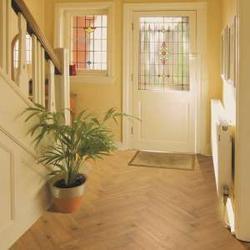 Herringbone – Oak, Smoked, Brushed & UV Oiled Flooring TF31 image