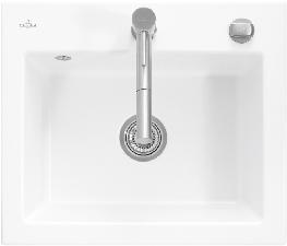 Subway flat Flush-fit sinks image