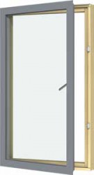 The VELFAC 200 window system is characterised by elegant clean lines, designed to complement contemporary architectural styles. Windows and patio doors have a uniform appearance, regardless of whether they open or not, which further enhances the uncluttered, m...