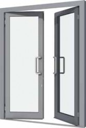 VELFAC 500 System heavy-duty aluminium entrance doors, typically used for main entrances or corridors to commercial or public buildings. The main entrance door is designed for installation where reliability, stability and strength are vital. Typical situations...