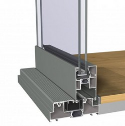 Concept Patio® 130 is a highly insulated slide and lift-slide system, which meets the highest requirements with regard to insulation, stability and safety. The system perfectly links up to the CS 77 series....