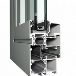 Eco System® 50 is a well-insulated system for inward and outward opening windows, that combines aesthetic design and energy efficiency with a moderate price. The system's limited built-in depth allows its application in many constructions, even with reduced...