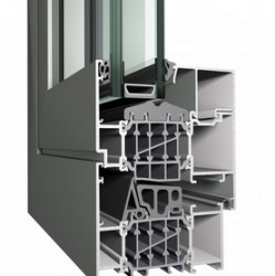 Concept System® 86-HI is a highly insulated system for inward opening windows, which meets the highest requirements concerning safety and stability. The system's unique insulation concept not only ensures the extreme stability and elevated water- and air ti...