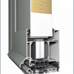 Concept System® 104 includes a high performance door system, to offer the most insulating aluminium door system available. Its exceptional high insulation level, combined with an extremely good water and air tightness, allowed the flush door incorporating an ...
