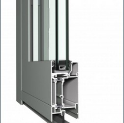 Eco System includes a well-insulated flush door system that combines aesthetic design and energy efficiency at a moderate price. All types of inward and outward opening doors and flush doors can be realised with Eco System, perfectly matching the Eco System wi...