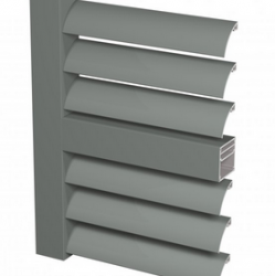 The Brise Soleil 40 system offers an innovative and aesthetic sun shading solution for energy conservation, perfect for apartments and smaller buildings. The system consists of elements with z-shaped or curved slats. These sliding shutters are positioned on th...