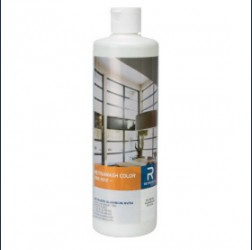 Colour cleaner for periodical application and maintenance. For all surfaces, including Coatex surfaces, powder coated and film-laminated frames, as well as the glass surfaces. Accurate and easy dosage. Solvent free. Ph-neutral.