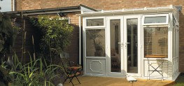 PVCU Lean-To Conservatories image