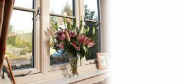 A luxury replica timber window system. Residence 9 Windows are at the leading edge of PVCu window design....