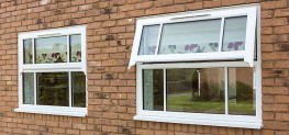 PVCU Windows with Runthru Sash Horns image