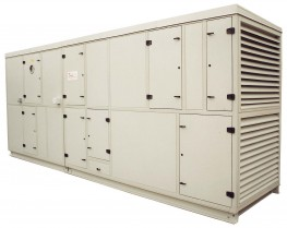 'HSF' range air handling units are available as standard in 40 different sizes covering air volumes from 0.50m3/s to 102m3/s. This range of unit is adaptable and flexible in design to suit most ventilation and air conditioning applications. They are of mod...