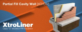 Xtratherm XO/CW Partial Fill Cavity Wall insulation is the solution of choice to achieve the lower U-values asked for under the building regulations whilst maintaining a residual cavity as a protection from wind driven rain. Masonry walls are the predominant c...