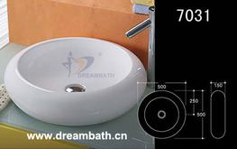 Circular <strong><strong>Bathroom</strong></strong> Sink image