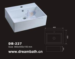 Rectangular Wash Basin image