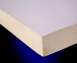 Rigid PIR insulation for use beneath fully adhered single-ply waterproofing membranes on metal, timber or concrete decks....