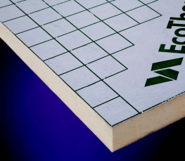 Eco-UFH underfloor heating insulation boards are designed specifically for insulating screeded underfloor heating systems. Easy to lay underfloor insulation provides a fast and secure method of installing underfloor heating water pipes.  The board has a protec...