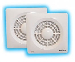 Supply and install a Vectaire AMF100T high pressure duct fan for toilets, shower-rooms, bathrooms and utility rooms as supplied by Vectaire Ltd, Lincoln Road, Cressex Business Park, High Wycombe, Bucks, HP12 3RH. This fan is to be suitable for installation eit...