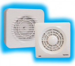 """Supply and install a Vectaire MF100TLV high pressure duct fan for toilets/bathrooms supplied by Vectaire Ltd, Lincoln Road, Cressex Business Park, High Wycombe,Bucks, HP12 3RH. This fan can either be for installation in a ceiling or wall using 4""""/10cm ducting...."""