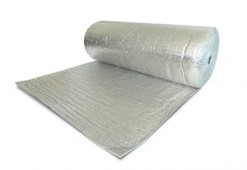Alreflex 2L2 is a foil bubble insulation that can be used in cavity wall, dry lining and cold bridging applications. It is a versatile and low cost insulation that can also be seal as a vapour barrier or used as a dpm in detailing work. It is BBA certified for use as a cavity wall insulation and cavity rain barrier and as a dry lining insulation.