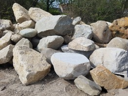At Stoneworld we have a range of large boulders that can be used either to create drama in landscaping designs, or as attractive but effective entry deterrants.