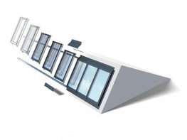 VELUX Modular Skylights Northlight 25-90° image