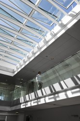 VELUX ridgelight with beam at 5° - VELUX Commercial