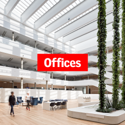 Why is daylight and ventilation important in office spaces?