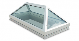 Modular Glass Rooflights Jet Cox Trapazoid image