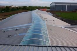 Barrel Vault Rooflights Jet Cox Varionorm image