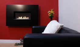 "The ANGEL is designed with simple lines and is one of the slimmest flueless gas fires on the market with minimal projection from the wall. This open flame flueless gas fire has a satin black interior and is available with either a 840mm or 1110mm wide fascia in either satin black or stainless steel. Choose from Natural Gas 2.7Kw or 3.5Kw, LPG 3.5Kw.As featured on ""Grand Designs"" - C4 TV Program."