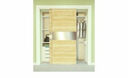 Straight Sliding Top Hung Wardrobe Double 50 image