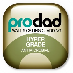 Proclad Hyper Grade - uPVC Antimicrobial Internal Wall Cladding - Interior Panel Systems Ltd