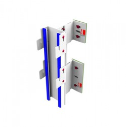 NV7 is the NVELOPE system for supporting cassettes. Suitable for supporting ACM / ZCM / Aluminium cassettes. NV7 is the NVELOPE system for concealed fix cassette (ACM / zinc / aluminium) – vertical cladding applications. Secured using cassette hangers to pro...