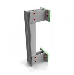 NVF2F is the NVELOPE back frame – vertical floor to floor cladding applications. Suitable as a back frame system – NVF2F is suitable for face fixing / rivet fixing cladding – elements to e.g. fibre cement, high-pressure laminate (HPL), ACM and metal rain...