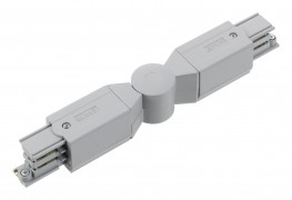 XTS24 GLOBAL Three Circuit Track Adjustable Connector - (Grey, Black or White) image