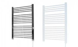 Attractive ladder style towel rail available in a choice of four sizes with chrome or white finish....