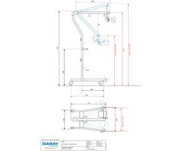 X400 - LED Examination Light - Daray Medical