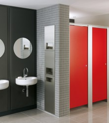 Centurion washroom cubicles stand for strength and rigidity. However, because we believe tough solutions still deserve style, they look great too. With several options available, our Centurion toilet cubicles offer you both flexibility and maximum privacy shou...