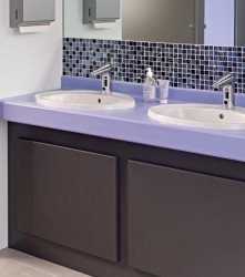 Our HPL washroom vanity units are an economical, flexible choice for dry environments. With a wide selection of vanity profiles, including low-level units for children, they deliver top marks for value and design. We have created our HPL washroom vanity units ...