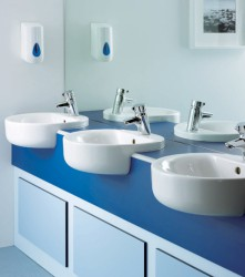 At Venesta we offer vanity solutions for the most demanding of environments. Our SGL washroom vanity units are totally impervious to water and built to last. Hard working washrooms need hard-working solutions. Our SGL washroom vanity units are manufactured fro...