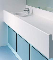 Baby changing facilities need to be hygienic, practical and, above all, safe to use. Our baby changing stations feature an anti-roll changing area and the option of a fully inset basin. These high quality HPL baby changing units offer a superb solution for any...