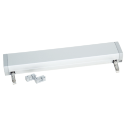 Double chain actuator for heavy, outward opening windows and roof windows....