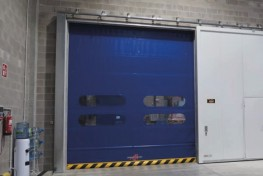 High Speed Folding Door Instant Pass Eco image